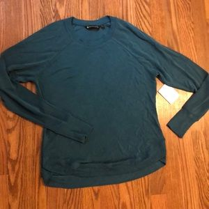 Cozy Teal Athleta Top